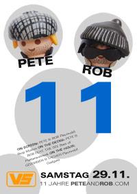 11 Jahre Pete & Rob